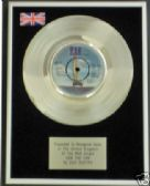 "SUZI QUATRO - 7"" Platinum Disc - CAN THE CAN"